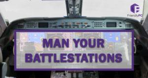 computer battlestation inspiration