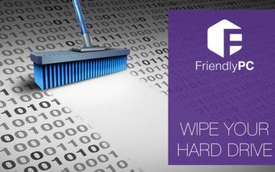 wipe your hard drive