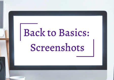Back to Basics: Screenshots